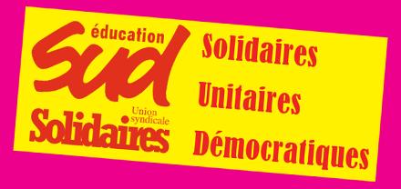 SUD : Solidaires Unitaires Démocratiques